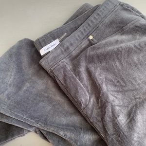 Calvin Klein Super Soft Gray Jeggings Size 1X